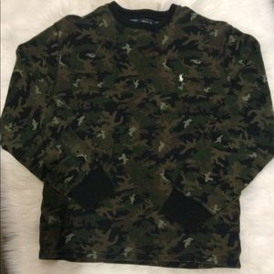 Ralph Lauren Polo long sleeve in Camouflage XL